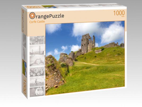 """Puzzle Motiv """"Corfe Castle"""" - Puzzle-Schachtel zu 1000 Teile Puzzle"""
