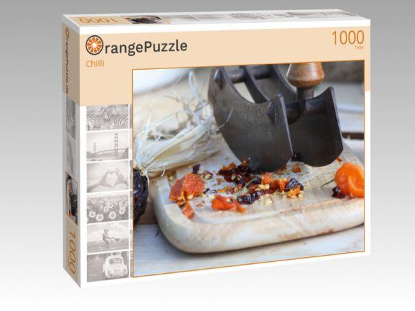 """Puzzle Motiv """"Chilli"""" - Puzzle-Schachtel zu 1000 Teile Puzzle"""