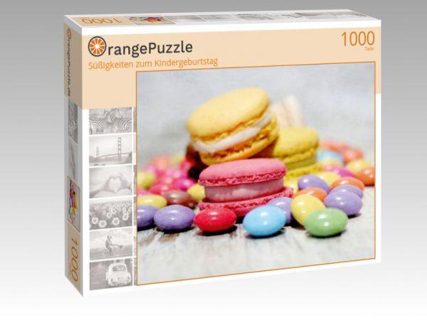 """Puzzle Motiv """"Süßigkeiten zum Kindergeburtstag"""" - Puzzle-Schachtel zu 1000 Teile Puzzle"""