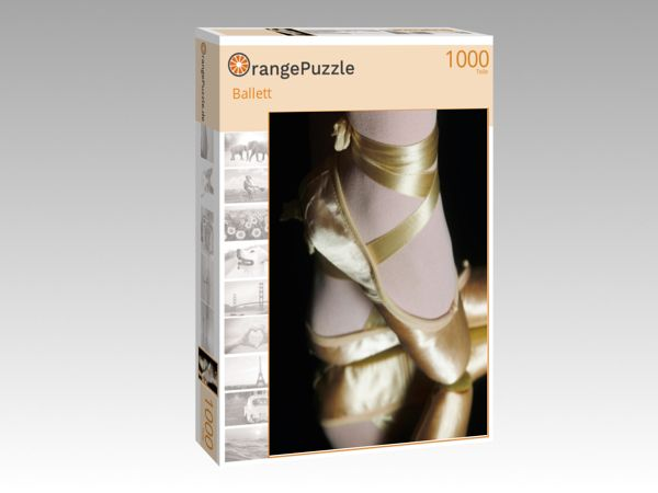 "Puzzle Motiv ""Ballett"" - Puzzle-Schachtel zu 1000 Teile Puzzle"