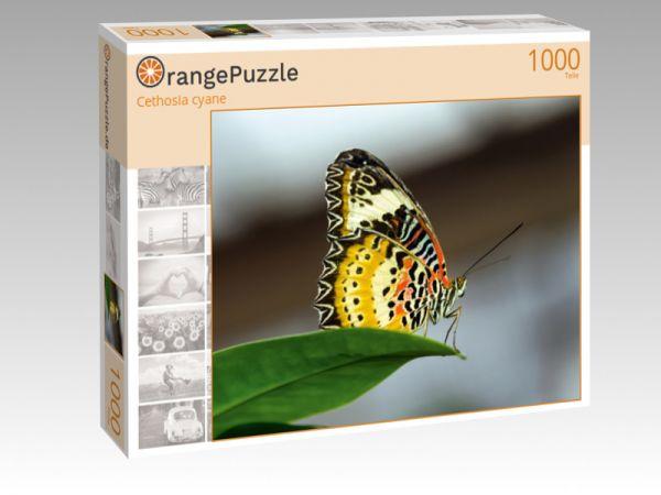 """Puzzle Motiv """"Cethosia cyane"""" - Puzzle-Schachtel zu 1000 Teile Puzzle"""