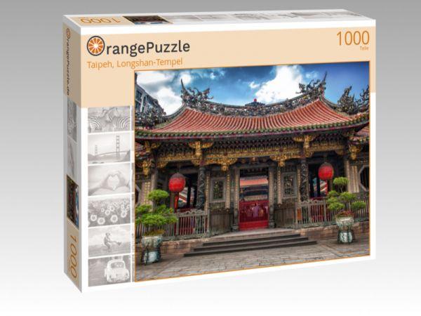 """Puzzle Motiv """"Taipeh, Longshan-Tempel"""" - Puzzle-Schachtel zu 1000 Teile Puzzle"""