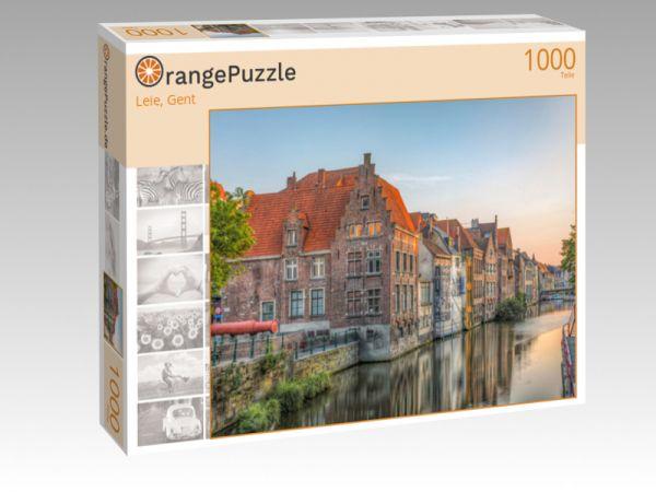"""Puzzle Motiv """"Leie, Gent"""" - Puzzle-Schachtel zu 1000 Teile Puzzle"""