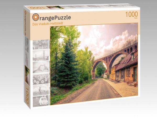 """Puzzle Motiv """"Das Viadukt Hettstedt"""" - Puzzle-Schachtel zu 1000 Teile Puzzle"""