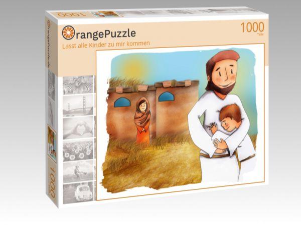 """Puzzle Motiv """"Lasst alle Kinder zu mir kommen"""" - Puzzle-Schachtel zu 1000 Teile Puzzle"""