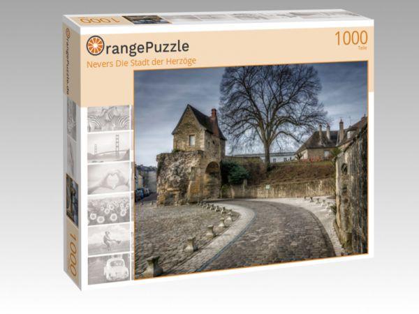 """Puzzle Motiv """"Nevers Die Stadt der Herzöge"""" - Puzzle-Schachtel zu 1000 Teile Puzzle"""