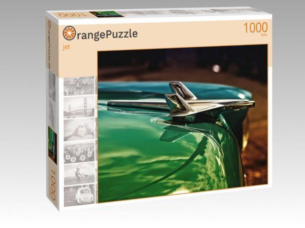 """Puzzle Motiv """"Jet"""" - Puzzle-Schachtel zu 1000 Teile Puzzle"""