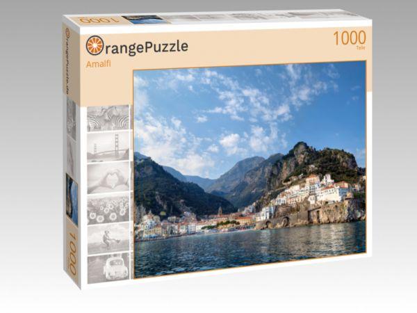 """Puzzle Motiv """"Amalfi"""" - Puzzle-Schachtel zu 1000 Teile Puzzle"""