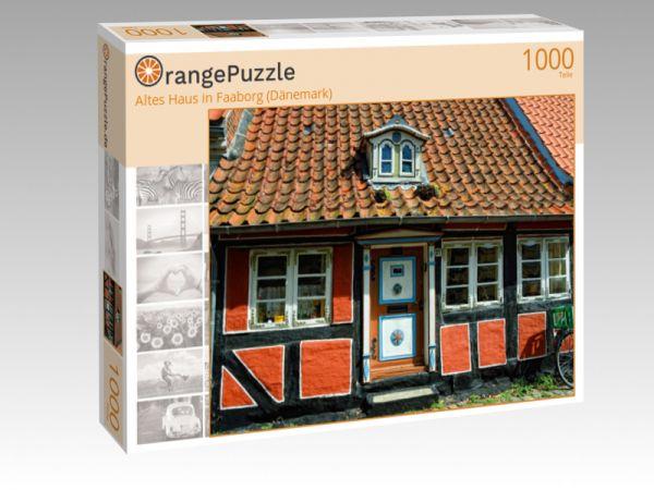 "Puzzle Motiv ""Altes Haus in Faaborg (Dänemark)"" - Puzzle-Schachtel zu 1000 Teile Puzzle"