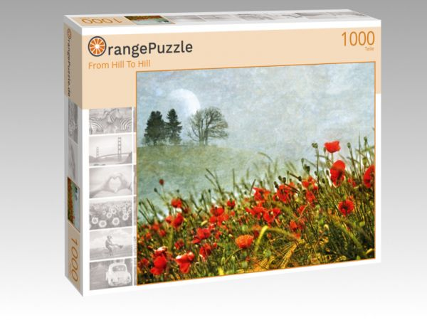 "Puzzle Motiv ""From Hill To Hill"" - Puzzle-Schachtel zu 1000 Teile Puzzle"