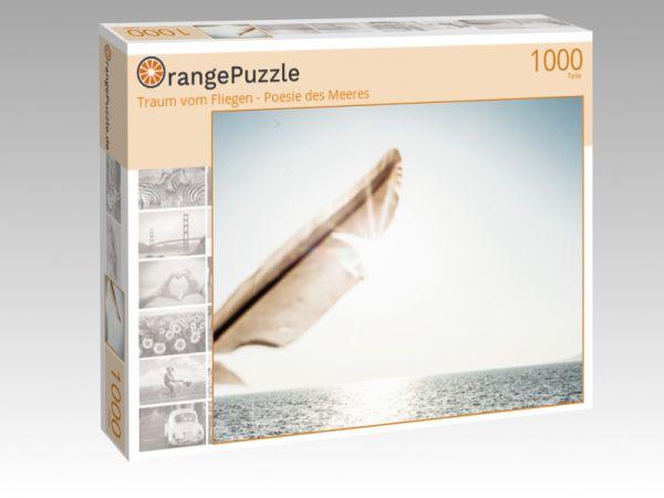"""Puzzle Motiv """"Traum vom Fliegen - Poesie des Meeres"""" - Puzzle-Schachtel zu 1000 Teile Puzzle"""