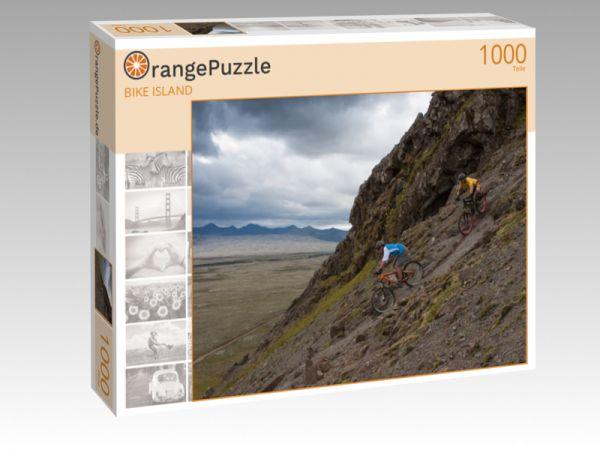 """Puzzle Motiv """"BIKE ISLAND"""" - Puzzle-Schachtel zu 1000 Teile Puzzle"""