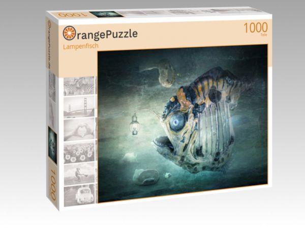 "Puzzle Motiv ""Lampenfisch"" - Puzzle-Schachtel zu 1000 Teile Puzzle"