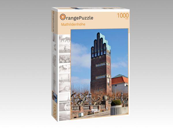 """Puzzle Motiv """"Mathildenhöhe"""" - Puzzle-Schachtel zu 1000 Teile Puzzle"""