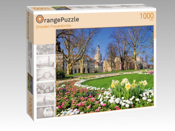 """Puzzle Motiv """"Dresden Frauenkirche"""" - Puzzle-Schachtel zu 1000 Teile Puzzle"""