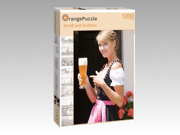 """Puzzle Motiv """"Dirndl und Tradition"""" - Puzzle-Schachtel zu 1000 Teile Puzzle"""
