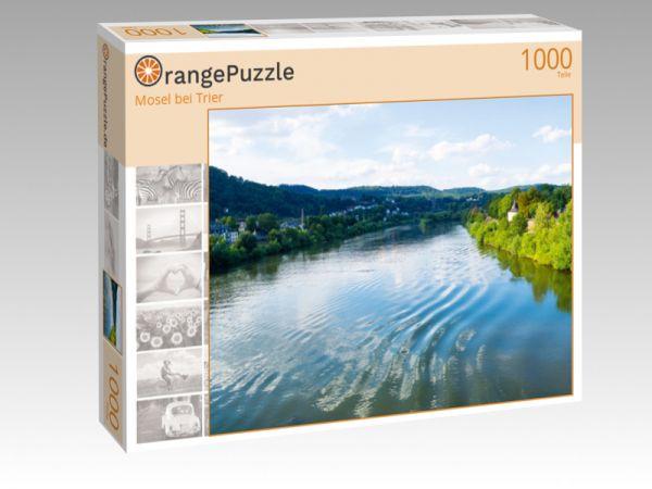 """Puzzle Motiv """"Mosel bei Trier"""" - Puzzle-Schachtel zu 1000 Teile Puzzle"""