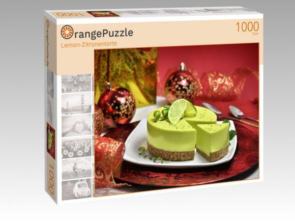 """Puzzle Motiv """"Lemon-Zitronentorte"""" - Puzzle-Schachtel zu 1000 Teile Puzzle"""