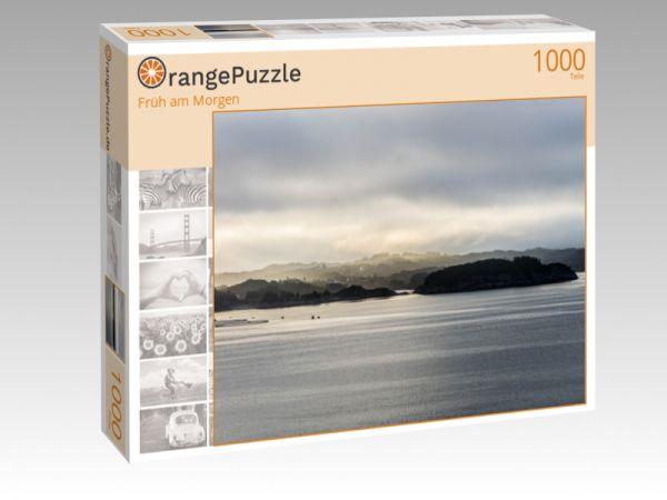 """Puzzle Motiv """"Früh am Morgen"""" - Puzzle-Schachtel zu 1000 Teile Puzzle"""