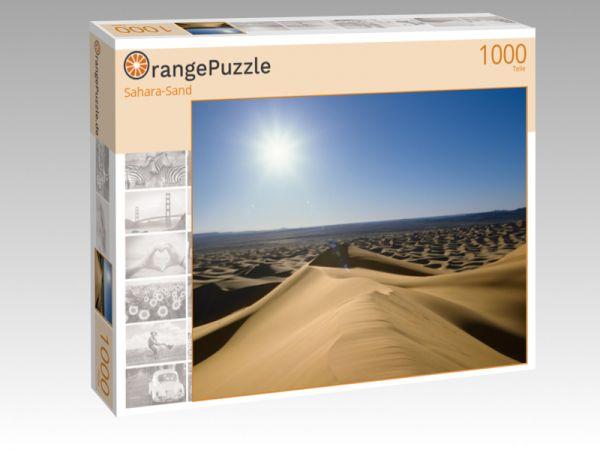 """Puzzle Motiv """"Sahara-Sand"""" - Puzzle-Schachtel zu 1000 Teile Puzzle"""