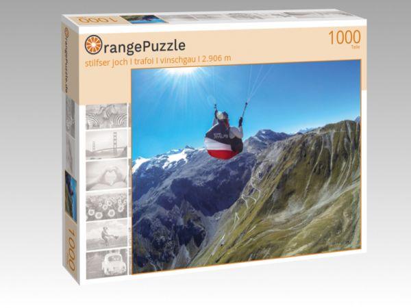 """Puzzle Motiv """"stilfser joch I trafoi I vinschgau I 2.906 m"""" - Puzzle-Schachtel zu 1000 Teile Puzzle"""