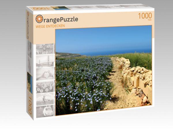 """Puzzle Motiv """"WEGE ENTDECKEN"""" - Puzzle-Schachtel zu 1000 Teile Puzzle"""