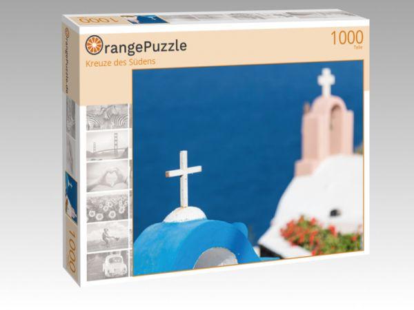 """Puzzle Motiv """"Kreuze des Südens"""" - Puzzle-Schachtel zu 1000 Teile Puzzle"""