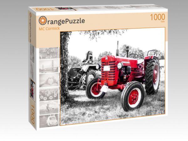 """Puzzle Motiv """"MC Cormick"""" - Puzzle-Schachtel zu 1000 Teile Puzzle"""