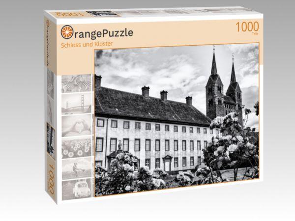 """Puzzle Motiv """"Schloss und Kloster"""" - Puzzle-Schachtel zu 1000 Teile Puzzle"""