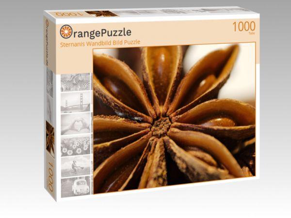 """Puzzle Motiv """"Sternanis Wandbild Bild Puzzle"""" - Puzzle-Schachtel zu 1000 Teile Puzzle"""