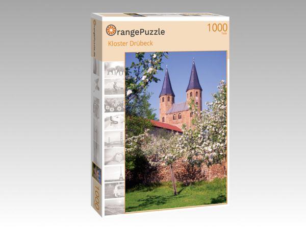 """Puzzle Motiv """"Kloster Drübeck"""" - Puzzle-Schachtel zu 1000 Teile Puzzle"""
