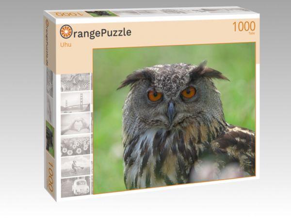 """Puzzle Motiv """"Uhu"""" - Puzzle-Schachtel zu 1000 Teile Puzzle"""