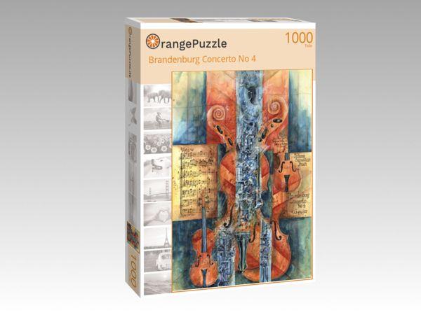 """Puzzle Motiv """"Brandenburg Concerto No 4"""" - Puzzle-Schachtel zu 1000 Teile Puzzle"""