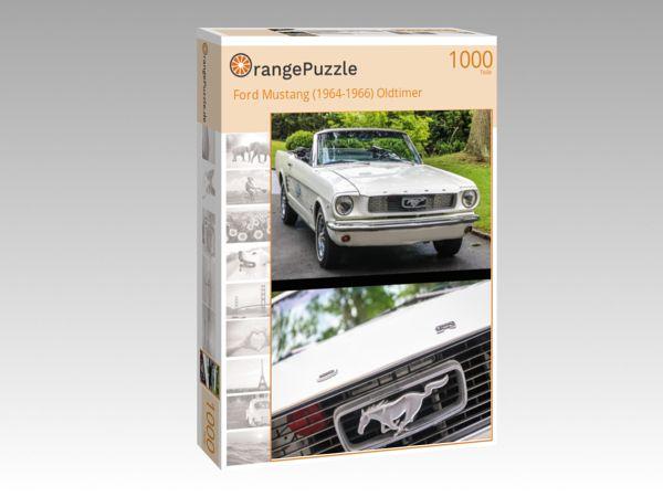 "Puzzle Motiv ""Ford Mustang (1964-1966) Oldtimer"" - Puzzle-Schachtel zu 1000 Teile Puzzle"