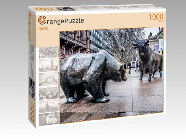"""Puzzle Motiv """"Börse"""" - Puzzle-Schachtel zu 1000 Teile Puzzle"""