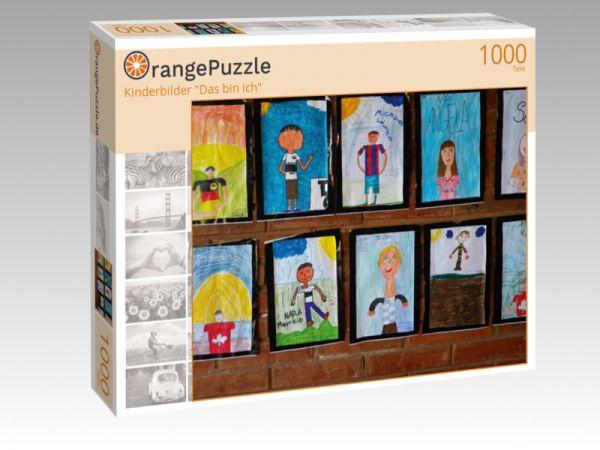 """Puzzle Motiv """"Kinderbilder """"Das bin ich"""""""" - Puzzle-Schachtel zu 1000 Teile Puzzle"""
