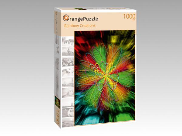 """Puzzle Motiv """"Rainbow Creations"""" - Puzzle-Schachtel zu 1000 Teile Puzzle"""