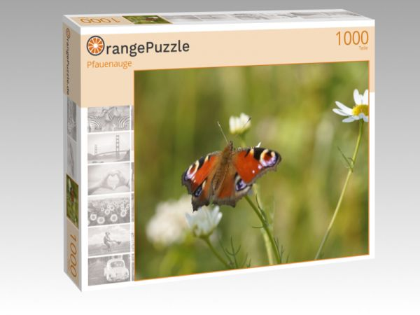 """Puzzle Motiv """"Pfauenauge"""" - Puzzle-Schachtel zu 1000 Teile Puzzle"""