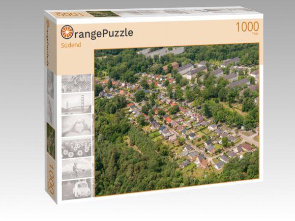 """Puzzle Motiv """"Südend"""" - Puzzle-Schachtel zu 1000 Teile Puzzle"""