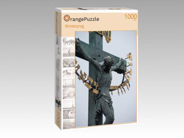 """Puzzle Motiv """"Winterprag"""" - Puzzle-Schachtel zu 1000 Teile Puzzle"""