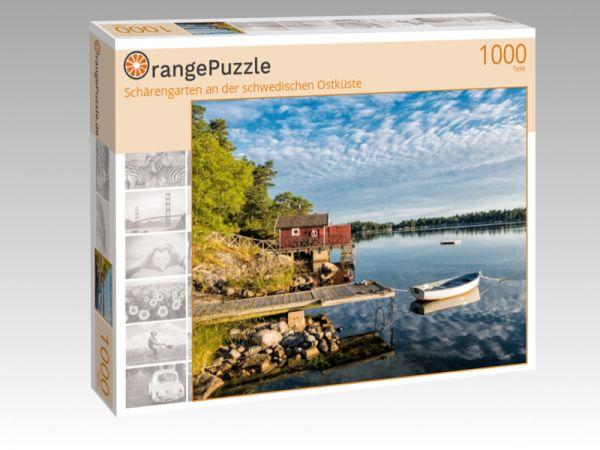 """Puzzle Motiv """"Schärengarten an der schwedischen Ostküste"""" - Puzzle-Schachtel zu 1000 Teile Puzzle"""