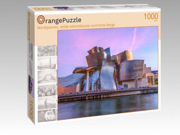 """Puzzle Motiv """"Nordspanien, wilde Atlantikküste und hohe Berge"""" - Puzzle-Schachtel zu 1000 Teile Puzzle"""