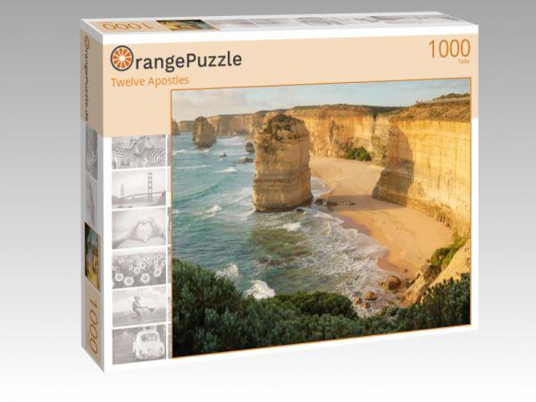 """Puzzle Motiv """"Twelve Apostles"""" - Puzzle-Schachtel zu 1000 Teile Puzzle"""