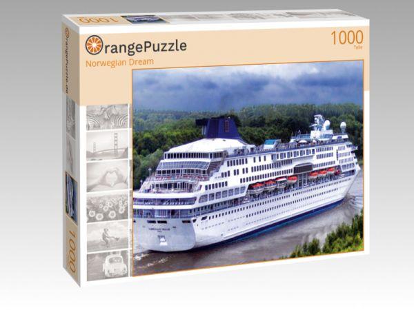 "Puzzle Motiv ""Norwegian Dream"" - Puzzle-Schachtel zu 1000 Teile Puzzle"