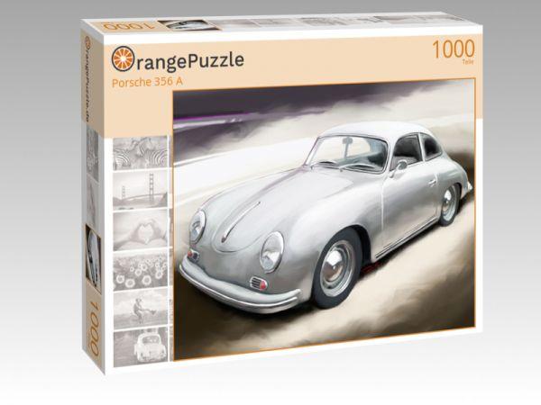 """Puzzle Motiv """"Porsche 356 A"""" - Puzzle-Schachtel zu 1000 Teile Puzzle"""
