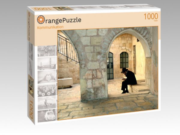"Puzzle Motiv ""Kommunikation"" - Puzzle-Schachtel zu 1000 Teile Puzzle"