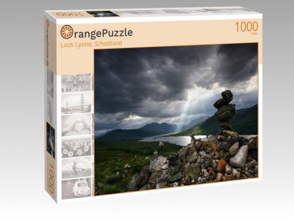 """Puzzle Motiv """"Loch Lyone, Schottland"""" - Puzzle-Schachtel zu 1000 Teile Puzzle"""