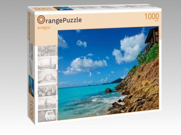 """Puzzle Motiv """"Antigua"""" - Puzzle-Schachtel zu 1000 Teile Puzzle"""
