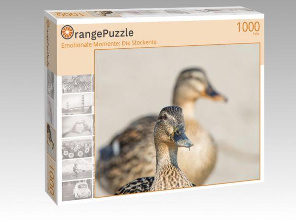 """Puzzle Motiv """"Emotionale Momente: Die Stockente."""" - Puzzle-Schachtel zu 1000 Teile Puzzle"""