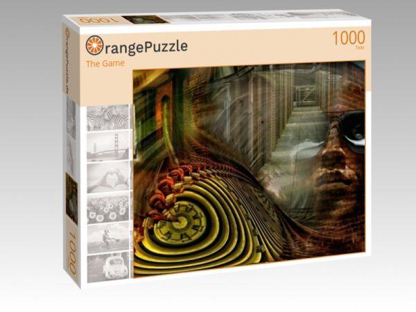 """Puzzle Motiv """"The Game"""" - Puzzle-Schachtel zu 1000 Teile Puzzle"""